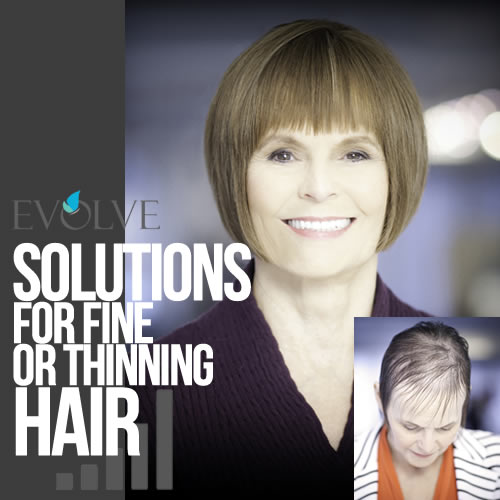 Solutions for thinning hair